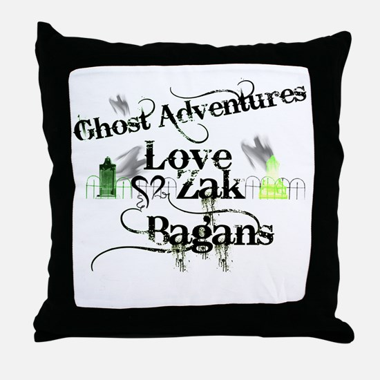 Ghost Adventures5.png Throw Pillow