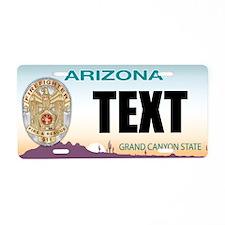 Arizona Firefighter Custom License Plate