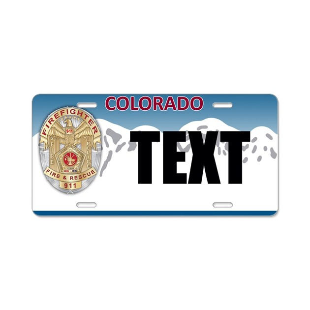 Custom Vanity License Plates and Frames