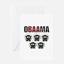 Obaama Greeting Card