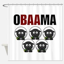 Obaama Shower Curtain