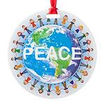 Peace Christmas Ornament