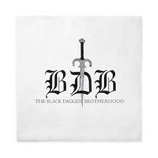 Bdb Dagger Logo Queen Duvet