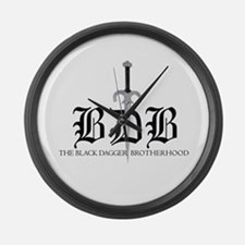 BDB Dagger Logo Large Wall Clock