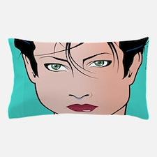 Pop Art Girl Sara Pillow Case