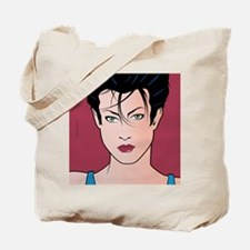Pop Art Girl Sara Tote Bag