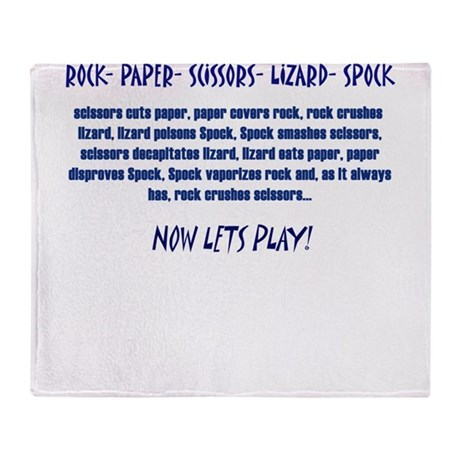 Big Bang Lets Play! Throw Blanket