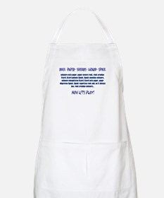 Big Bang Lets Play! Apron