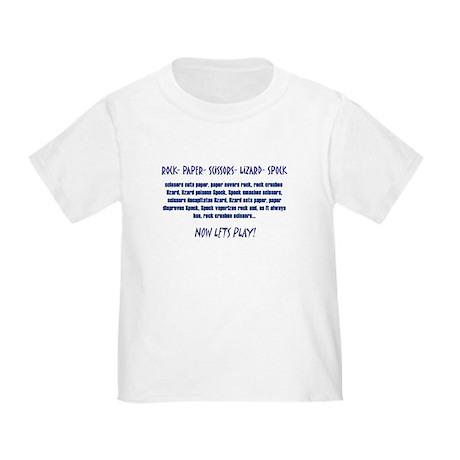 Big Bang Lets Play! Toddler T-Shirt