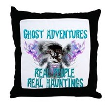 Ghost Adventures Whitewings T-Shirt.png Throw Pill