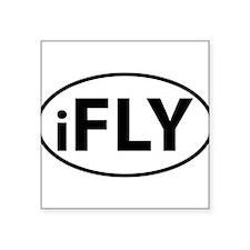 iFly oval sticker Sticker