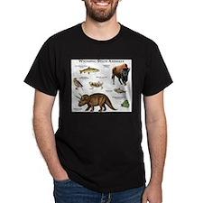 Wyoming State Animals T-Shirt