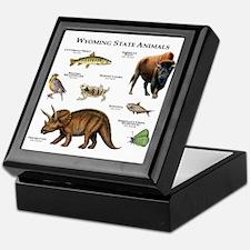 Wyoming State Animals Keepsake Box