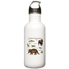 Wyoming State Animals Water Bottle