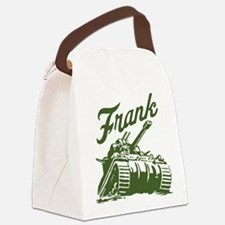 frank the Canvas Lunch Bag