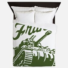 frank the Queen Duvet