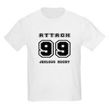 Level 99 Attack, Jealous? Kids T-Shirt