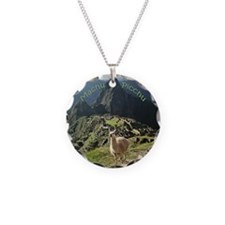 Machu Picchu Charm Necklace Pendant