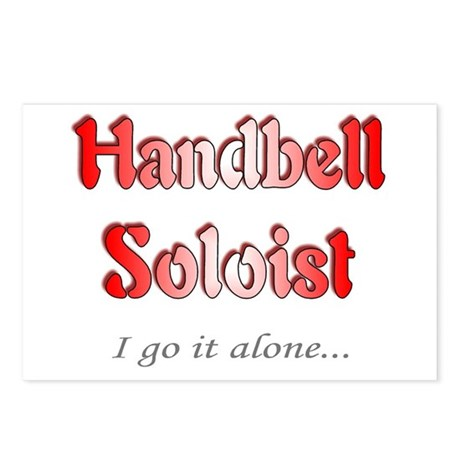 Handbell Soloist Postcards (Package of 8)