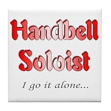 Handbell Soloist Tile Coaster