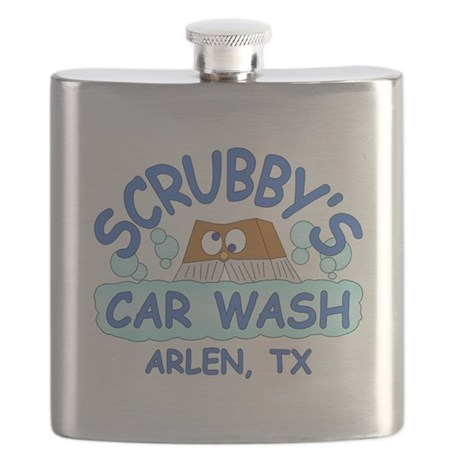 Scrubbys Car Wash Flask