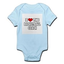 """I Love The Basketball Coach"" Body Suit"
