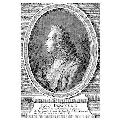Jacques Bernoulli, Swiss mathematician Poster