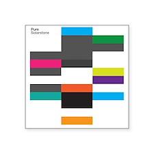"""Solarstone 'Pure' Cover Art Square Sticker 3"""" x 3"""""""
