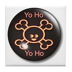 Yo Ho Yo Ho Pirate Tile Coaster