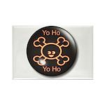 Yo Ho Yo Ho Pirate Rectangle Magnet (10 pack)