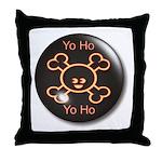 Yo Ho Yo Ho Pirate Throw Pillow
