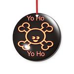 Yo Ho Yo Ho Pirate Ornament (Round)