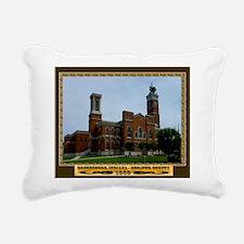 Greensburg Indiana Rectangular Canvas Pillow