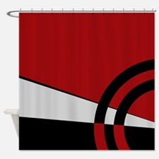 Red Majestic Shower Curtain