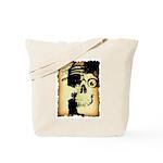 Halloween Skull Pirate Tote Bag