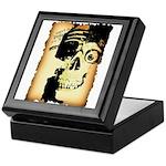 Halloween Skull Pirate Keepsake Box