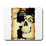 Halloween Skull Pirate Mousepad