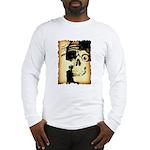 Halloween Skull Pirate Long Sleeve T-Shirt