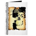 Halloween Skull Pirate Journal
