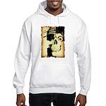 Halloween Skull Pirate Hooded Sweatshirt