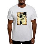 Halloween Skull Pirate Light T-Shirt