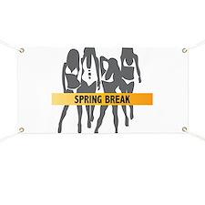 Spring Break Girls Banner