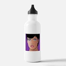 Pop Art Girl Sonja Water Bottle