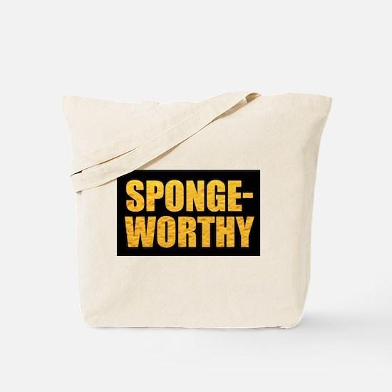 Spongeworthy - Tote Bag