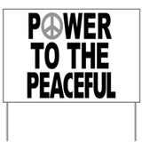 Peace Yard Signs