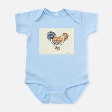 Rooster Infant Bodysuit