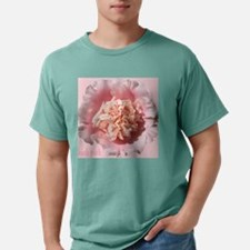 Think Pink-Flower-Breast Mens Comfort Colors Shirt