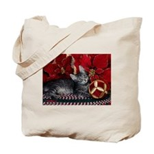 Unique Happy kitty Tote Bag