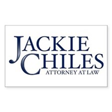 Jackie Chiles - Rectangle Decal