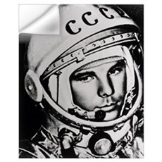 Yuri Gagarin Wall Decal